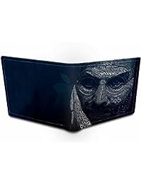 Ownclique Steve Jobs Genuine Leather Black Wallet Black Wallet
