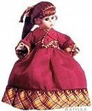 Jo From Very Little Women, 5'' Porcelain Madame Alexander Doll