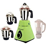 Rotomix Green Colour 1000 Watts Juicer Mixer Grinder With 4 Jar (1 Medium Jar, 1 Juicer Jar, 1 Large Jar And 1 Chuntey Jar)