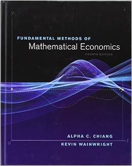 Mathematical Economics: Books