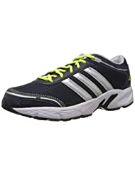 Adidas Men's Eyota M Dark Navy, Metallic Silver And White Mesh Running Shoes
