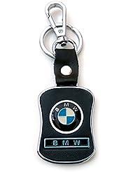 Techpro Premium Quality Leatherite Keychain With BMW Design