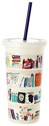 kate spade new york Insulated Tumbler,BookShelf