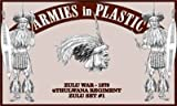 Armies in Plastic Zulu Warriors Offered By Classic Toy Soldiers, Inc by Armies in Plastic