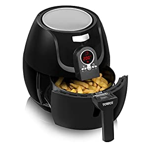 Amazon.com: Tower Black Low Fat Air Fryer: Kitchen & Dining