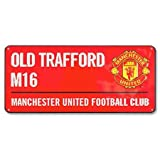 Manchester United Colour Street Sign - Multi-Colour