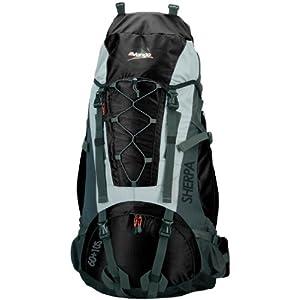 Vango Sherpa 60+10 S Rucksack (Black)