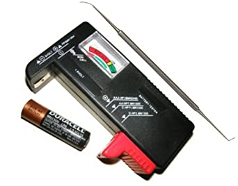 Universal Battery Tester with Probe Battery Terminal