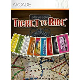 Click to buy the Ticket to Ride XBox 360 code from Amazon!