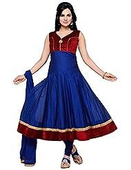 Roopali Creations Women's Chanderi Silk Salwar Suit Set