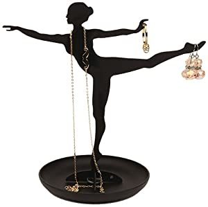Amazon.com: Kikkerland Ballerina Jewelry Stand: Home & Kitchen
