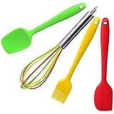 Hygienic Solid Coating Kitchen Utensils (Set (4 Piece))