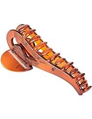 Jasmine Fashion Accessories Brown Plastic Hair Clip For Women (AP-A6)