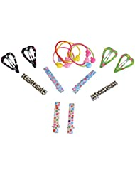 AE Multi-Color Plastic Hair Pin For Women, Pack Of 8 (A-42)