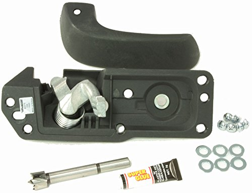 APDTY 91486 Interior Door Handle Kit Fits Passenger-Side Right Front or Rear On 2007-2014 Avalanche / Escalade/ Silverado / Sierra/ Suburban / Tahoe / Yukon (Allows Handle Replacement Without Replacing The Entire Door Panel) (15936893, 20833602, 20871483)