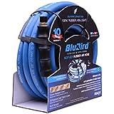 BluBird Ultra-light & Super-Strong Rubber Air Hose 3/8 X 25' 300PSI W/ 10 Year Warranty