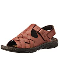 Dr.Scholl Men's Jas Sandal Leather Sandals And Floaters