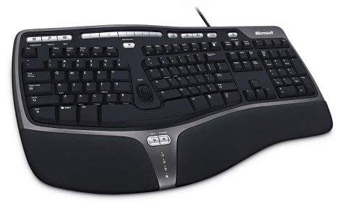 Microsoft Natural Ergonomic Keyboard 4000 (B2M-00012) USB接続 英語版