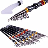Generic ZANLURE TSR-01 Telescopic Fishing Rod Carbon Spinning Sea Fishing Pole Hand Fishing Tackle Sea Rod