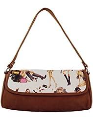 KARP Women's Fashion Stylish Canvas Multi Compartment Shoulder Handbag (HandBag Style - 14)
