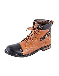Porcupine Men's Faux Leather Boots - B011I83GKI