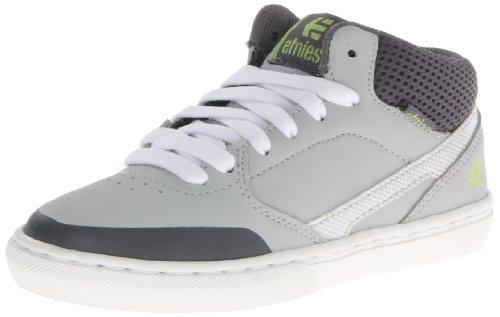 Etnies Rap CM Mid Lace-Up Sneaker ,Light Grey/Dark Grey,4 C
