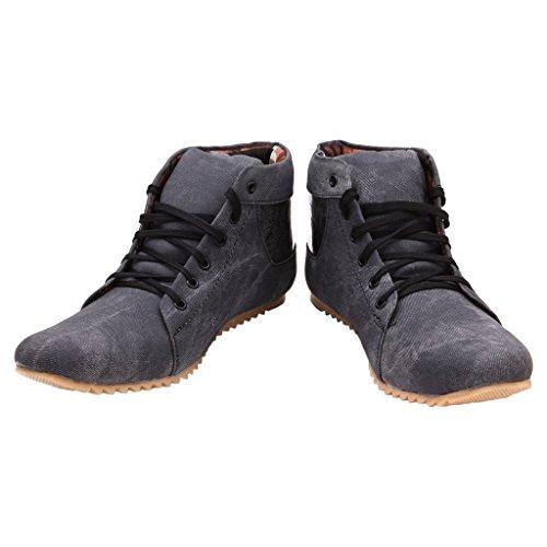 FBT Men's 1636 Black Casual Shoes
