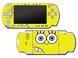 Spongebob Squarepants Face Patrick Bikini Bottom Video Game Vinyl Decal Skin Sticker Cover for Sony PSP Playstation Portable Original Fat 1000 Series System