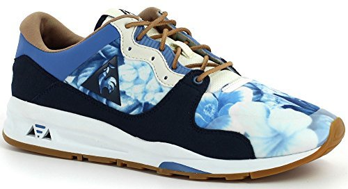 LE COQ SPORTIF, 1511139, NYLON*FLOWERS DRESS BLUE, Blu