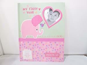 Amazon.com : Nursery Rhyme Memory Book Pink Elephant : Baby