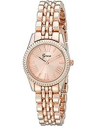 Geneva Women's 2441C-GEN Analog Display Analog Quartz Rose Gold Watch