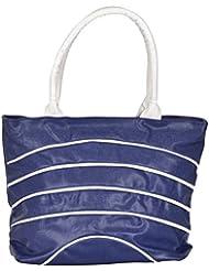 Ecadence Women's Shoulder Bag (Blue, ECA0145B)