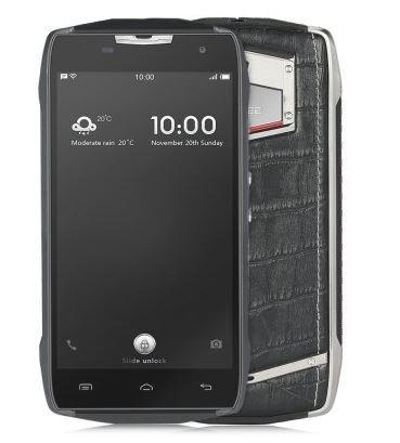 Doogee T5 - Businessport teléfono IP67 con esquema dual, 13 MP (PDAF) 3 GB de RAM 32 GB ROM impermeable a prueba de polvo textura del cocodrilo 4500mA acumulador de recarga veloz width=