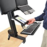 WorkFit-S Tablet/Document Holder, 7 1/4 X 1 1/2 X 10 3/4, Black, Sold As 1 Each