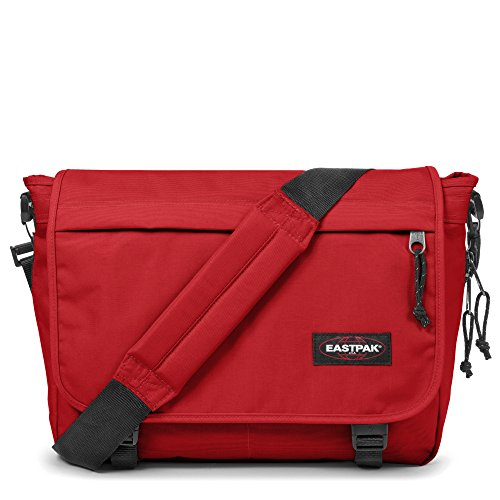 Eastpak Delegate Sac bandoulière, 20 L, Apple Pick Red