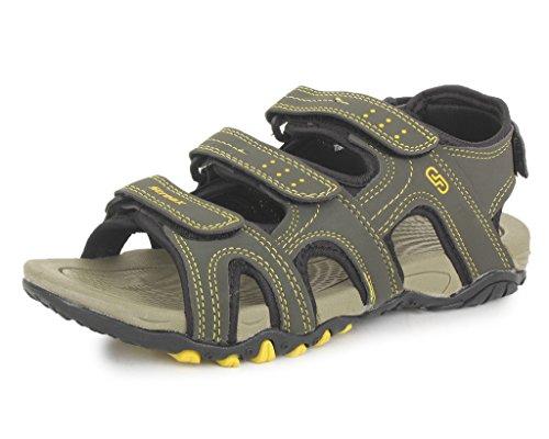 SRV Men's VibeX Green Sandals & Floaters