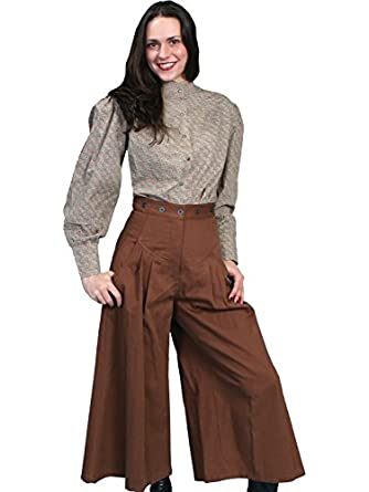 Steampunk Women's Pants & Bloomers Brushed Twill Riding Pants  AT vintagedancer.com