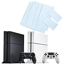 Alcoa Prime White Wall Brick Pattern Stickers Waterproof PVC Vinyl Decal Protective Skin Cover For PS4 PlayStation 4 Game Console Controller