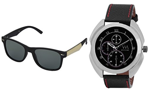 WATCH ME Combo Gift Set Of Watch And Sunglasses For Men And Boys WMWMG-001-78B