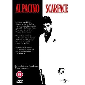[DVD] Scarface für 5,83 € (inkl. Versand)