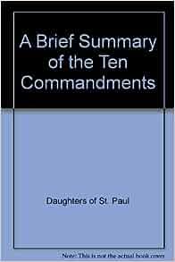 Teach the Ten Commandments to Kids