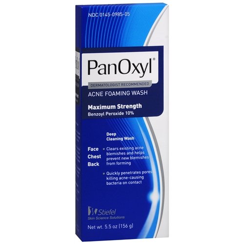 PanOxyl 10% Acne Foaming Wash