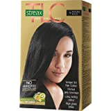 Streax Hair Colour Tlc Natural Balck No.1, 170ml
