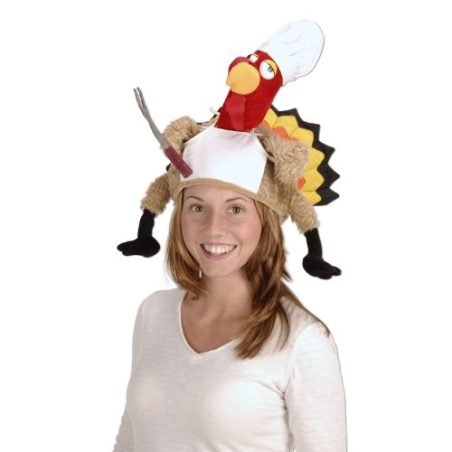 Chef Turkey Hat Party Accessory