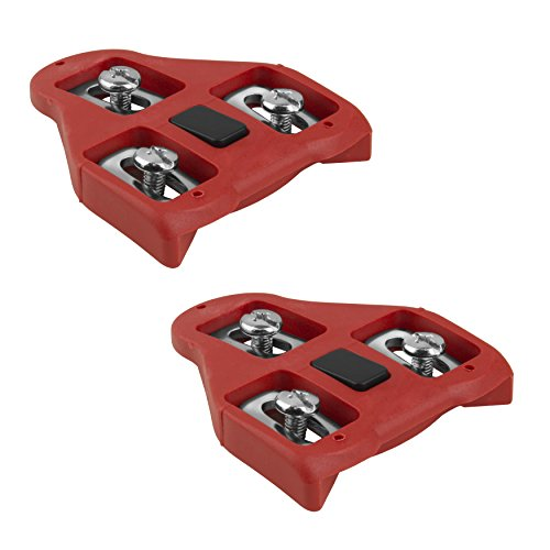 BV Look Delta System Compatible Road Cleats (9 Degree Float)