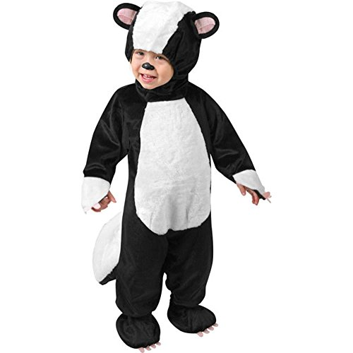 Child's Toddler Fluffy Skunk Costume (Size: 1-2T)