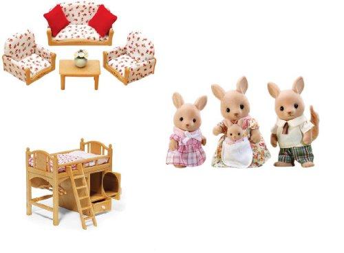sylvanian family   dollsaccessories, kangaroo