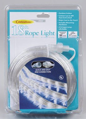 Celebrations 18' Indoor/Outdoor Rope Lights