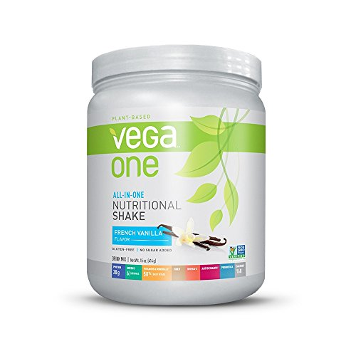 Vega One All-in-One Nutritional Shake, French Vanilla, 15 Ounce