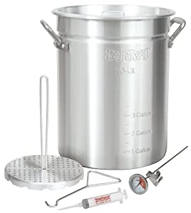 Amazon.com : Bayou Classic 3025 30-Quart Aluminum Turkey